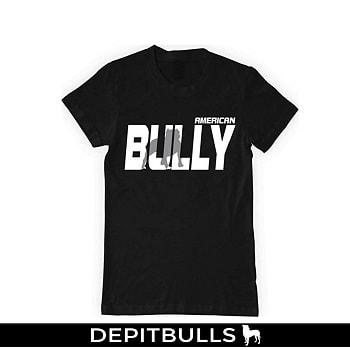 CAMISETAS PARA HOMBRE ESTAMPADAS CON IMAGEN DE PITBULLS A LA MODA Camisa con letras pitbull bully american