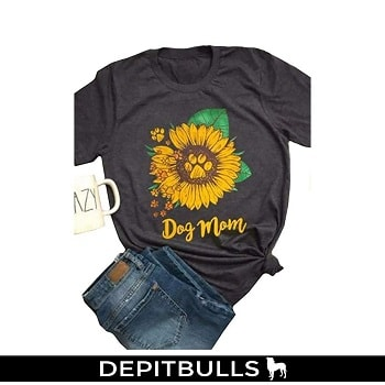 Camiseta de manga corta para mujer, diseño de girasol