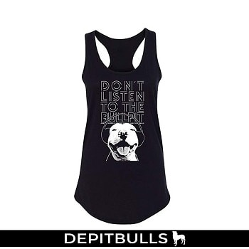 Arm The Animals Women's Don't Listen to The Bullpit Tank Top