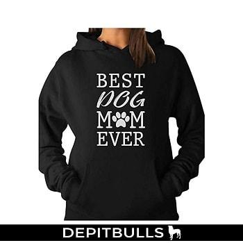 Mejor perro Mom Ever. Regalo para amante de los Perros mujeres