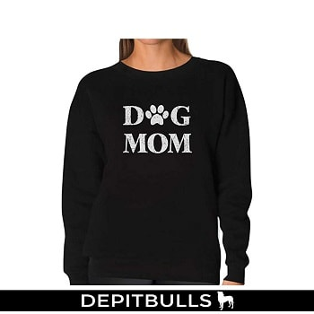 Dog Mom for Dog Lover Women Sweatshirt
